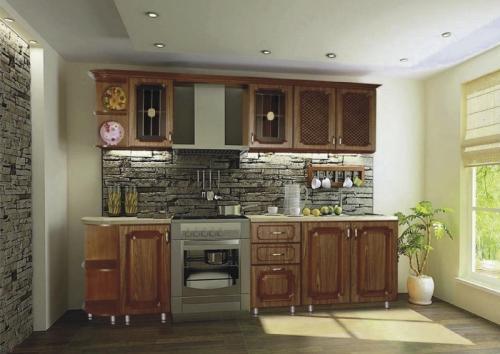 Кухня МДФ 13 размер 2,3 цена 38200 руб