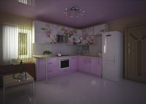 Кухня МДФ 17 размер 1,5*2,1 цена 66400 руб