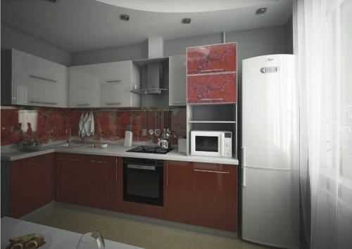 Кухня МДФ 18 размер 1,6*2,8 цена 73400 руб
