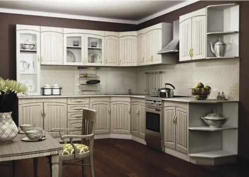 Кухня МДФ 26 размер 2,4*3,1 цена 96000 руб