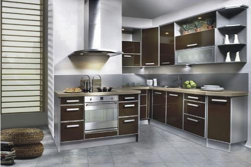 Кухня МДФ 53 размер 1,1*2,8*2,6 цена 96300 руб