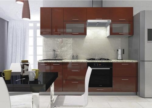 Кухня МДФ 6 размер 2,2 цена 37000 руб
