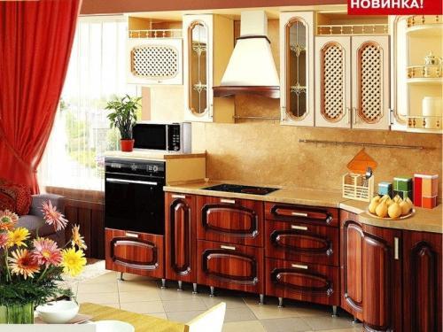Кухня Патина 10 размер 2.9*1.2 цена 75600 руб