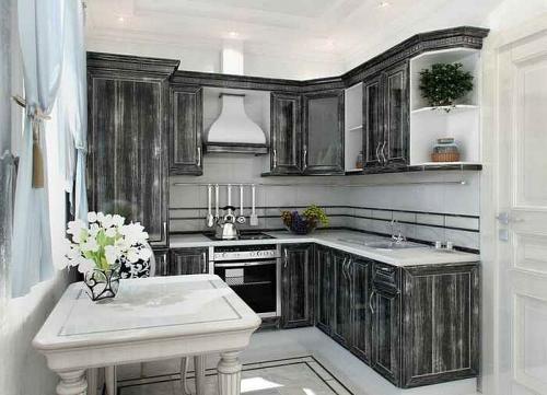 Кухня Патина 33 размер 2.3*2.1 цена 80400 руб