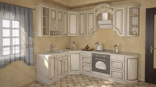 Кухня Патина 35 размер 1.9*2.6 цена 86500 руб