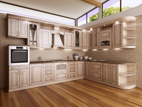 Кухня Патина 36 размер 3.4*2.5 цена 114400 руб