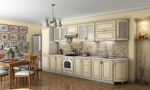 Кухня Патина 42  размер 3.9 цена 72900 руб