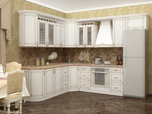 Кухня Патина 47 размер 2.4*2.9 цена 94700 руб