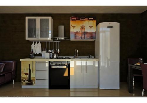 Кухни Пластик 12 размер 2.2 цена 56200 руб