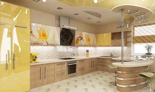 Кухни Пластик 43 размер 4*2.2*1.6 цена 173800 руб