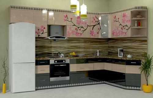 Кухни Пластик 49 размер 2.7*1.9 цена 106600 руб
