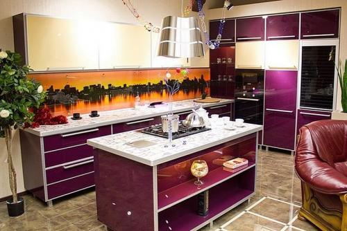 Кухни Пластик 50 размер 3*2.4 цена 133400 руб