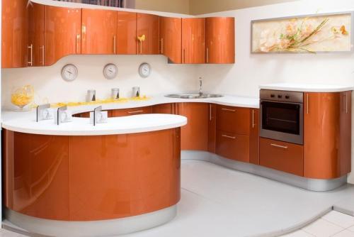Кухня Эмаль 24 размер 2.6*2.8*2.6 цена 256000 руб