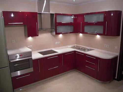 Кухня Эмаль 37 размер 2.6*1.8цена 150800 руб